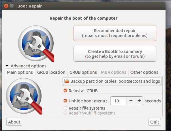 Cara Memperbaiki Grub Hilang Atau Rusak Di Ubuntu Linux Siswanto16
